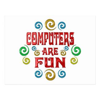 Computers are FUN Postcard