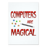 Computers are Magical 5x7 Paper Invitation Card