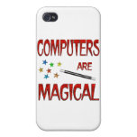 Computers are Magical Covers For iPhone 4