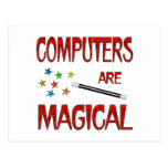 Computers are Magical Postcard