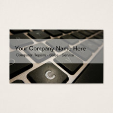 Computers Business Cards at Zazzle