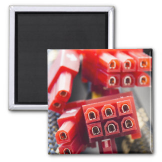 Computers Cable Connector 2 Inch Square Magnet