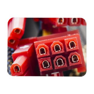 Computers Cable Connector Rectangular Photo Magnet