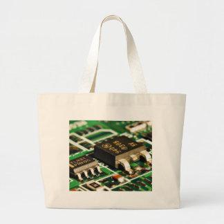 Computers Chips Circuits Canvas Bag