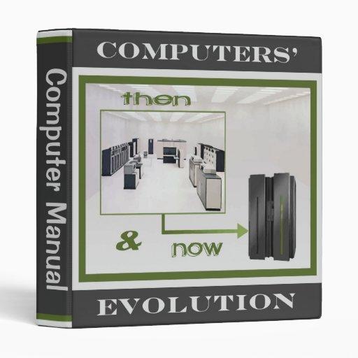 Computers Evolution Binder