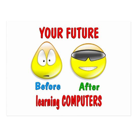 Computers Future Postcard