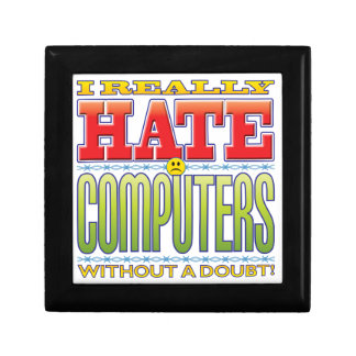 Computers Hate Face Trinket Boxes