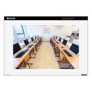 """Computers in classroom of dutch education skin for 15"""" laptop"""