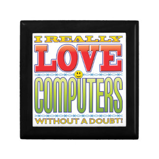 Computers Love Face Jewelry Boxes