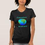 Computers Open Worlds T-shirt