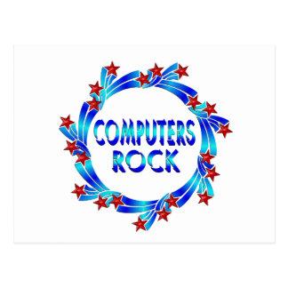 Computers Rock Fun Postcard