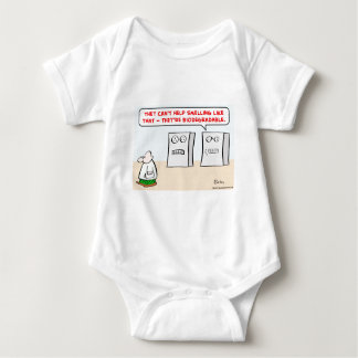 computers smell biodegradable baby bodysuit