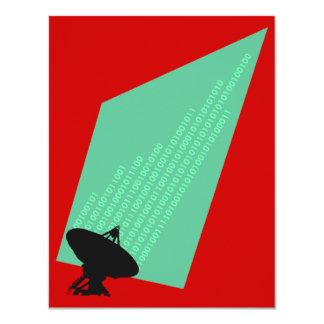 Computing binary digits bits Techie Invitations