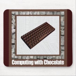 Computing with Chocolate Mousepad