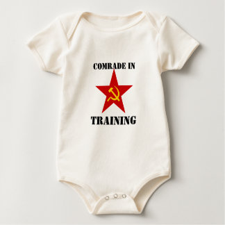 Comrade in Training Baby Bodysuit