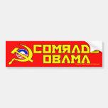 Comrade Obama Bumper Sticker Car Bumper Sticker