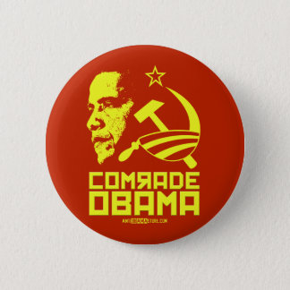Comrade Obama Button
