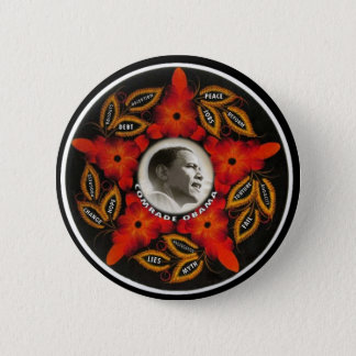 Comrade Obama button version 3