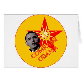 Comrade Obama Card