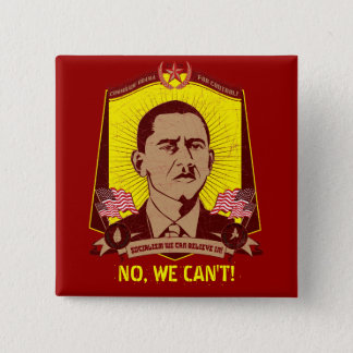 Comrade Obama Customizable Slogan Button