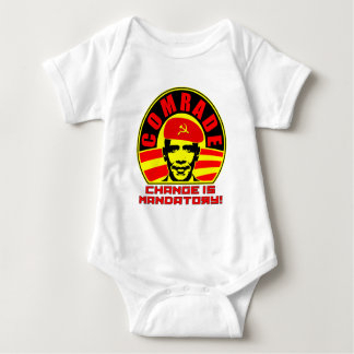 Comrade Obama Infant Toddler Bodysuit Creeper