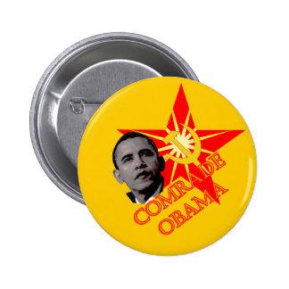 Comrade Obama Pinback Buttons