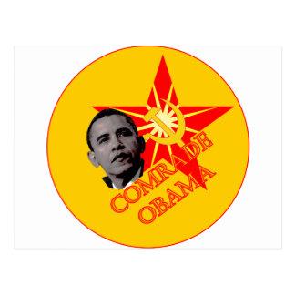 Comrade Obama Postcard