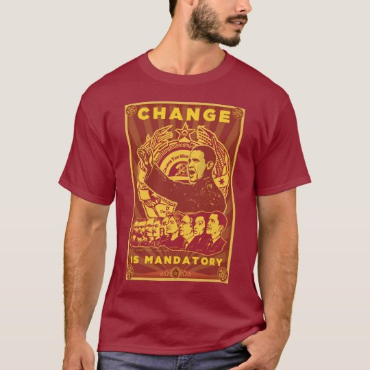 Comrade Obama Spoof Shirt