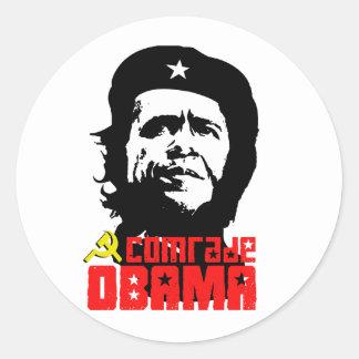Comrade Obama Sticker