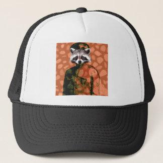 Comrade raccoon trucker hat
