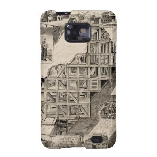 Comstock Lode Mine Galaxy S2 Cases
