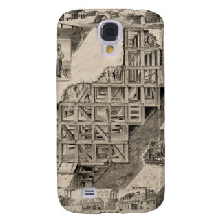 Comstock Lode Mine Galaxy S4 Covers