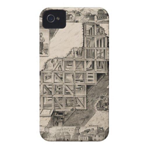 Comstock Lode Mine iPhone 4 Case-Mate Case