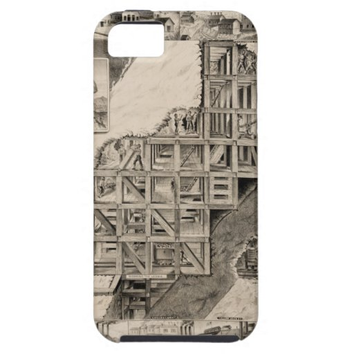 Comstock Lode Mine iPhone 5 Cover