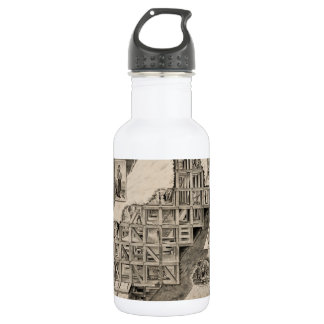 Comstock Lode Mine Stainless Steel Water Bottle