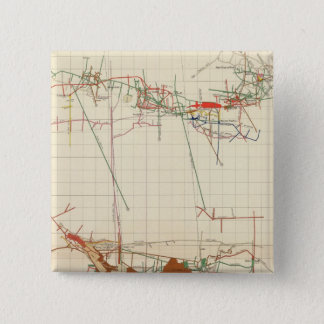 Comstock Mine Maps Number III Pinback Button