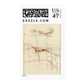 Comstock Mine Maps Number III Postage