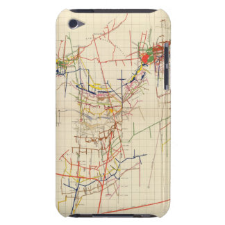 Comstock Mine Maps Number IV iPod Touch Cases