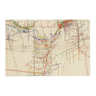 Comstock Mine Maps Number IV Placemat
