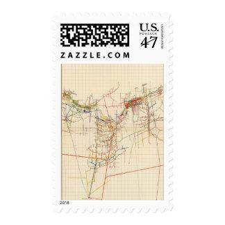 Comstock Mine Maps Number IV Postage