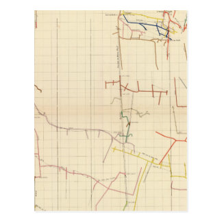 Comstock Mine Maps Number V Postcard
