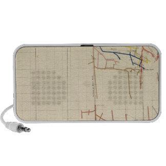 Comstock Mine Maps Number V Travelling Speaker