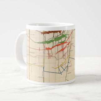 Comstock Mine Maps Number VI Giant Coffee Mug