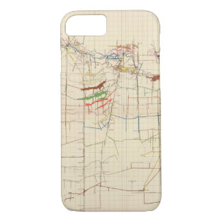 Comstock Mine Maps Number VI iPhone 7 Case