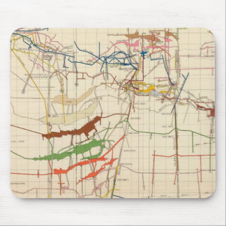 Comstock Mine Maps Number VI Mouse Pad