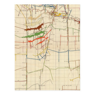 Comstock Mine Maps Number VI Postcard