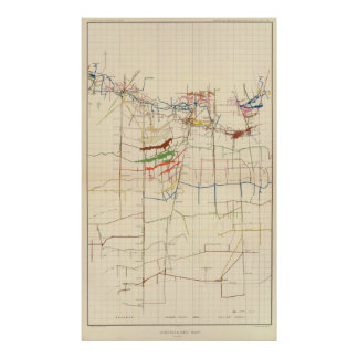 Comstock Mine Maps Number VI Poster
