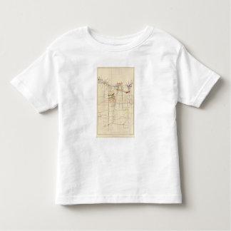 Comstock Mine Maps Number VI Tee Shirts