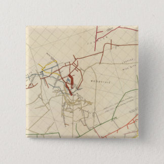Comstock Mine Maps Number VIII Button