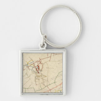 Comstock Mine Maps Number VIII Keychain
